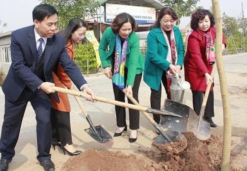 Hội Liên hiệp phụ nữ Hà Nội phát động Tết trồng cây Xuân Canh Tý