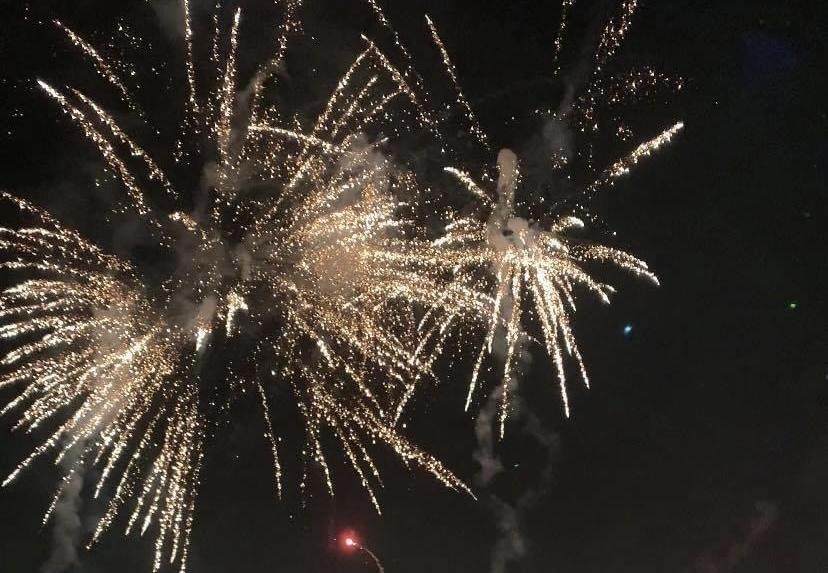 Hà Nội bắn pháo hoa đêm Giao thừa tại Công viên Thống Nhất