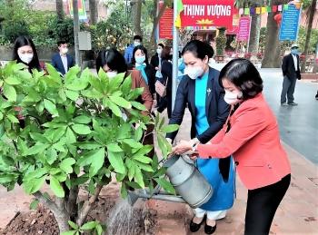 Tết trồng cây - Phụ nữ vun trồng tương lai