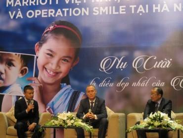 """8 khách sạn thuộc Marriott tại Việt Nam hỗ trợ Tổ chức """"Phẫu thuật nụ cười"""""""