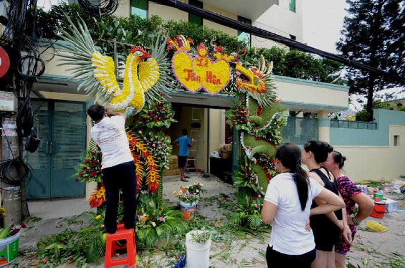 Cổng cưới miệt vườn