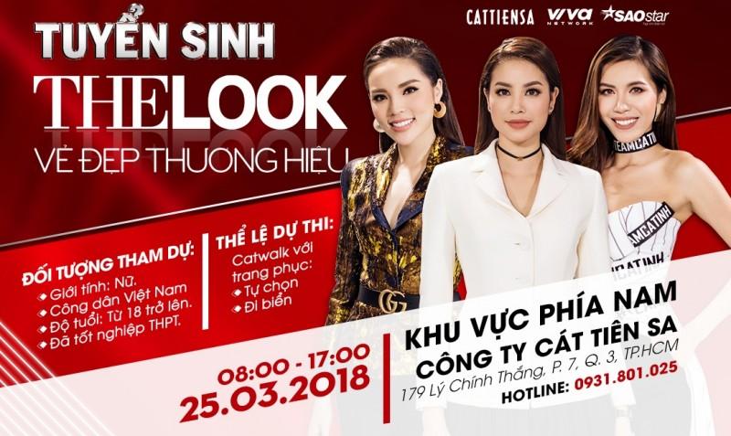 The Look chính thức quay trở lại rộn ràng tuyển sinh cùng Siêu mẫu Việt Nam