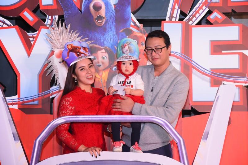 Dàn sao Việt xuất hiện rạng rỡ trong sự kiện ra mắt siêu phẩm hoạt hình 'Công viên kỳ diệu'
