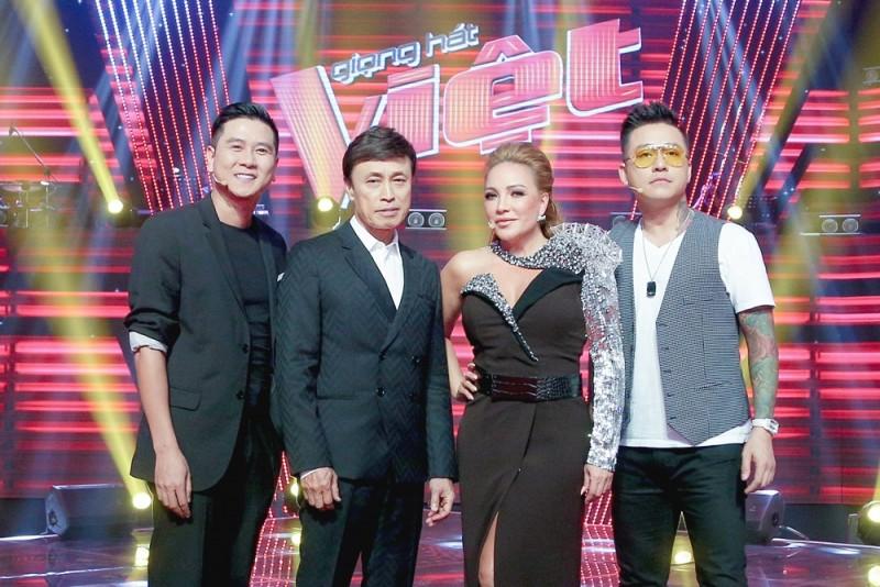 Giọng hát Việt 2019: Bộ tứ HLV quyền lực khiến khán giả bấn loạn