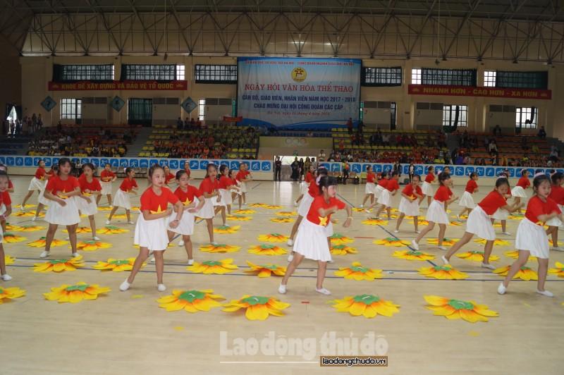 Tưng bừng Ngày hội Văn hóa Thể thao ngành Giáo dục Hà Nội