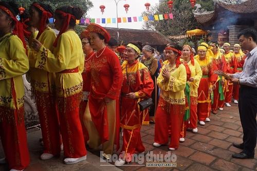 Tưng bừng khai mạc Lễ hội truyền thống Chùa Láng Xuân Kỷ Hợi 2019