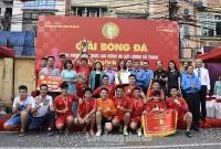 Giải Bóng đá Cúp Báo Lao động Thủ đô lần thứ V: Một mùa giải nhiều cảm xúc