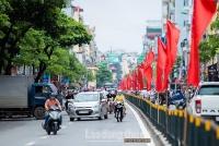 Hà Nội đẩy mạnh tuyên truyền trực quan chào mừng 45 năm ngày thống nhất đất nước