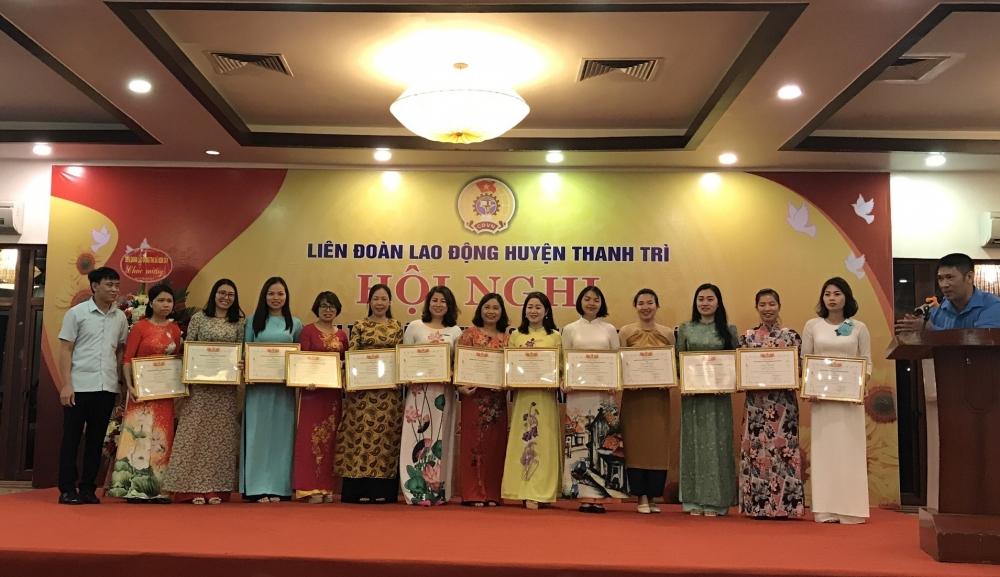 Liên đoàn Lao động huyện Thanh Trì sơ kết 5 năm thực hiện Chỉ thị 05 của Bộ Chính trị