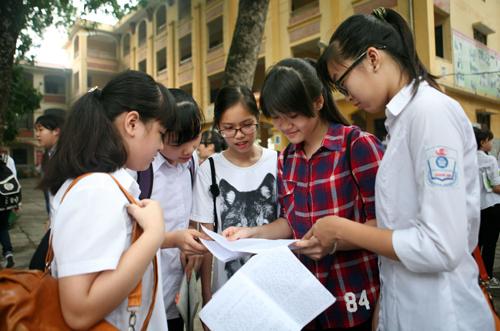Tuyển sinh lớp 10 THPT tại Hà Nội: Cân nhắc kỹ nguyện vọng