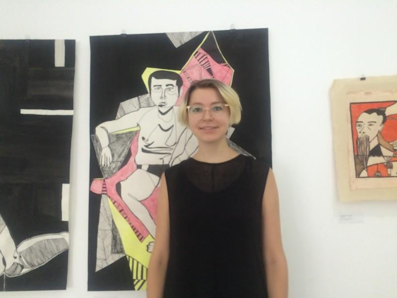 """Nữ họa sỹ Đức Lara Jaecks và triển lãm 'Ngưng đọng hiện tại"""""""