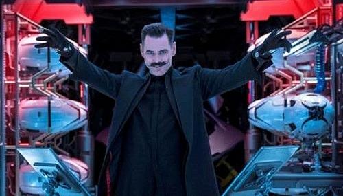 Diễn viên hài lừng danh Jim Carrey trở lại với vai diễn bác sĩ điên Robotnik