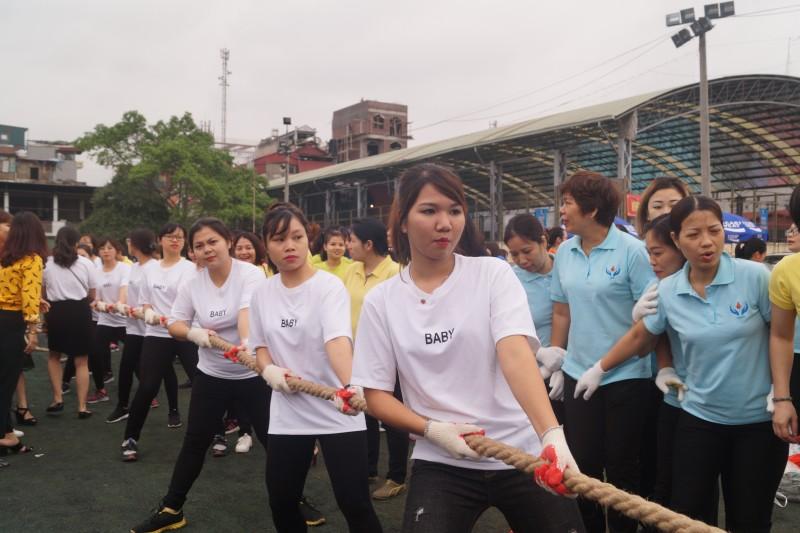 Khai mạc Hội khỏe CNVCLĐ và lực lượng vũ trang quận Hoàn Kiếm