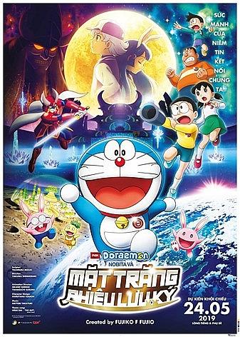 Phim thiếu nhi 'Doraemon: Nobita và Mặt trăng phiêu lưu ký'