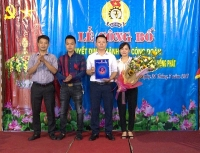 LĐLĐ huyện Thường Tín thành lập thêm Công đoàn cơ sở