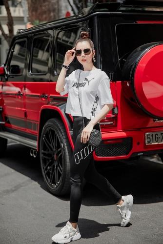 Hoa hậu Du lịch Huỳnh Vy gợi ý chọn trang phục hợp mốt xuống phố ngày hè