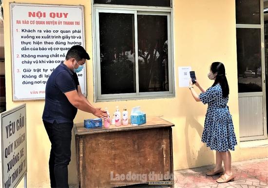 Liên đoàn Lao động huyện Thanh Trì triển khai các biện pháp phòng, chống dịch