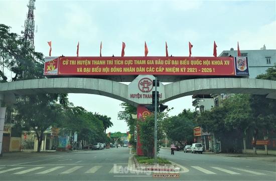 Huyện Thanh Trì công bố kết quả bầu cử đại biểu Quốc hội và đại biểu Hội đồng nhân dân
