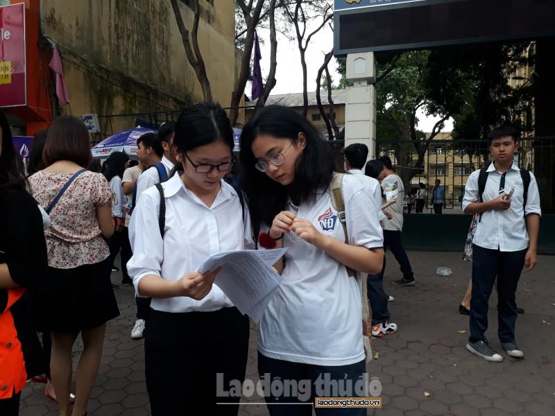Bộ Giáo dục công bố đáp án chính thức các môn thi THPT quốc gia 2018
