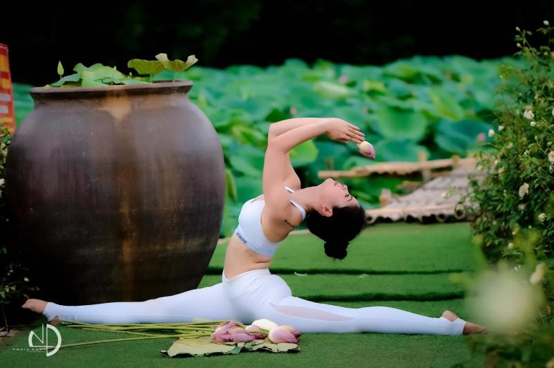 ngon ngu cua hoa sen va yoga