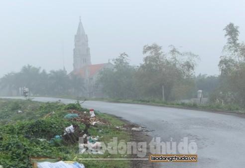 Thành phố giao huyện Thường Tín thực hiện cải tạo, nâng cấp mặt đê hữu Hồng