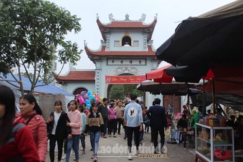 Huyện Thường Tín đón 12.206 lượt khách du lịch 6 tháng đầu năm