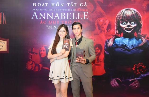 Dàn sao Việt chào đón sự trở lại của búp bê quỷ ám Annabelle
