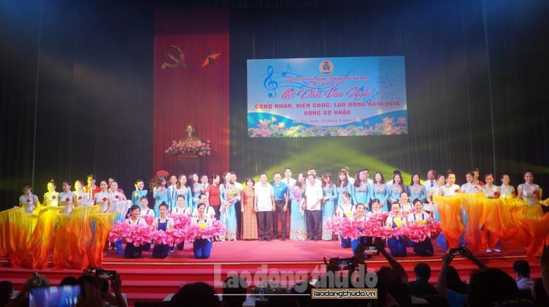 Hơn 100 diễn viên tham gia Hội diễn văn nghệ CNVCLĐ năm 2019