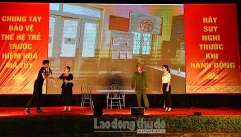 Phụ nữ Thủ đô thực hiện nhiều mô hình phòng chống tệ nạn xã hội