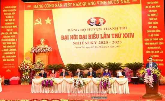 """Hướng tới mục tiêu """"Đầu tư xây dựng huyện Thanh Trì thành quận năm 2025"""""""