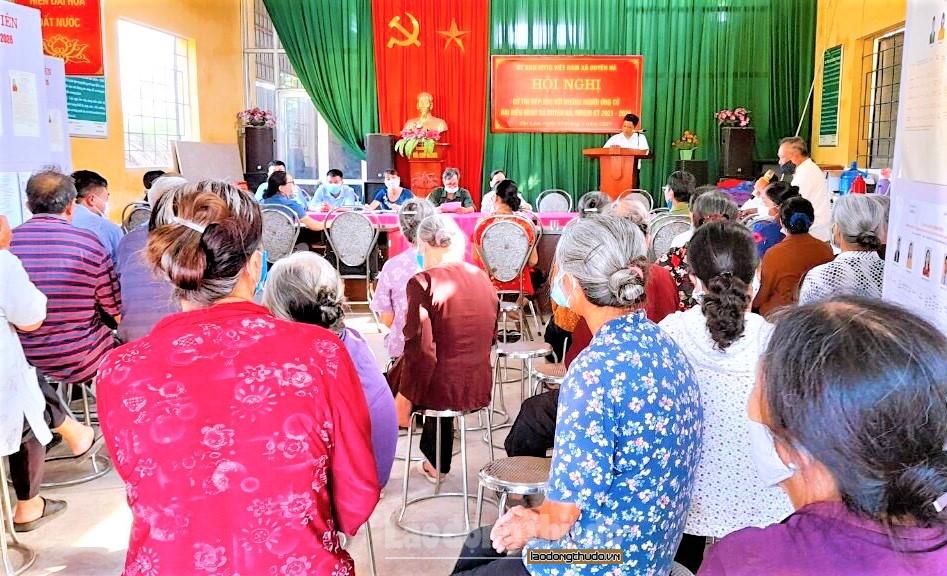 Mặt trận Tổ quốc Việt Nam các cấp huyện Thanh Trì khẳng định vai trò trong bầu cử
