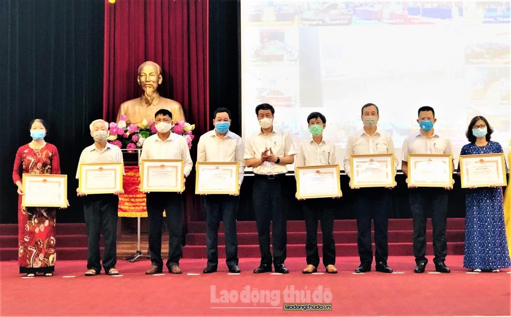 Huyện Thanh Trì: Bầu cử thắng lợi nhờ sự đồng lòng của toàn hệ thống chính trị và nhân dân
