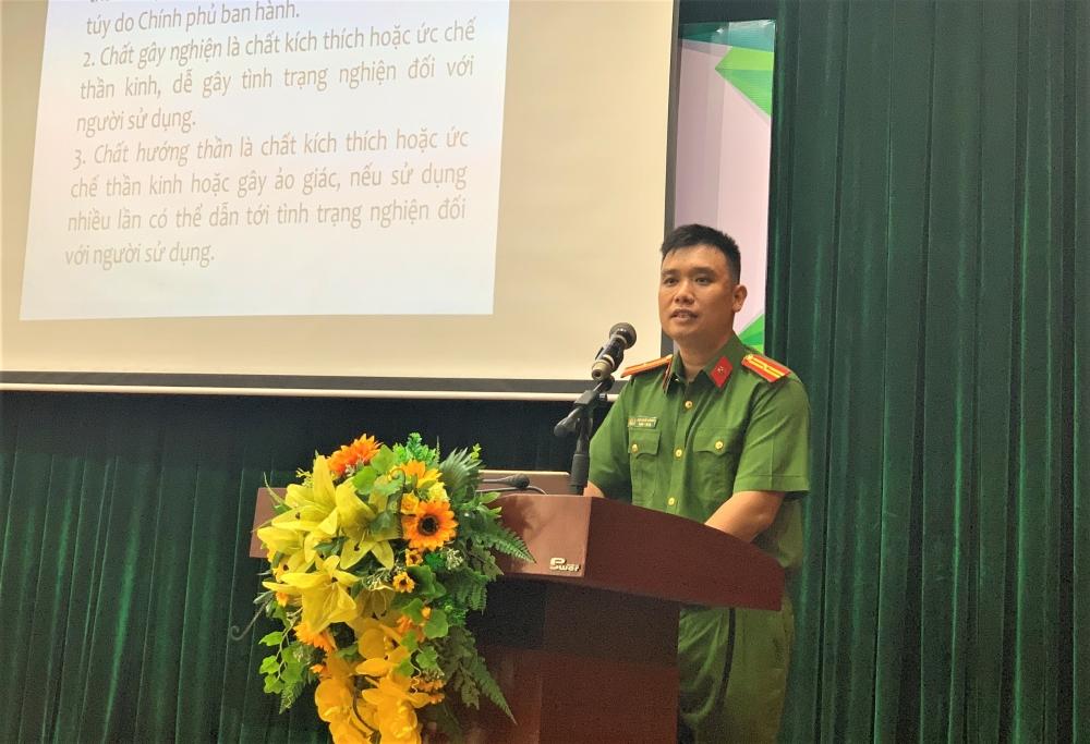 Phụ nữ Thủ đô nâng cao kỹ năng nhận biết phòng, chống ma tuý tại cộng đồng