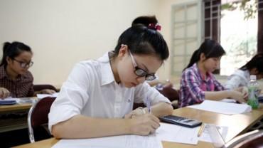 22 thí sinh bị đình chỉ thi sau môn thi đầu tiên