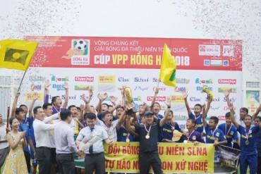 Sông Lam Nghệ An vô địch Giải Bóng đá Thiếu niên toàn quốc 2018
