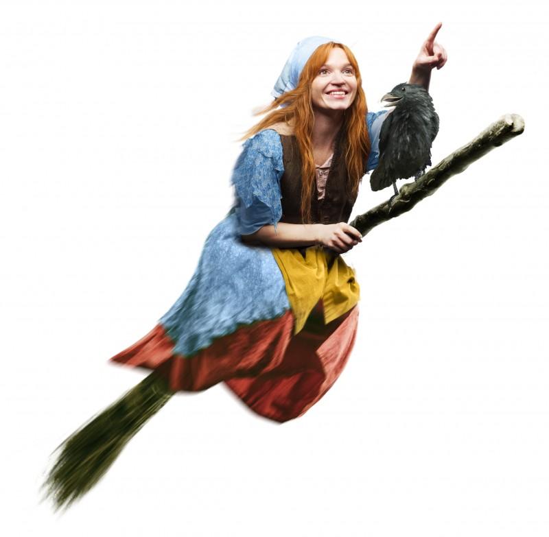 Cùng khám phá thế giới phép thuật đầy màu sắc với phim 'Cô phù thủy nhỏ'