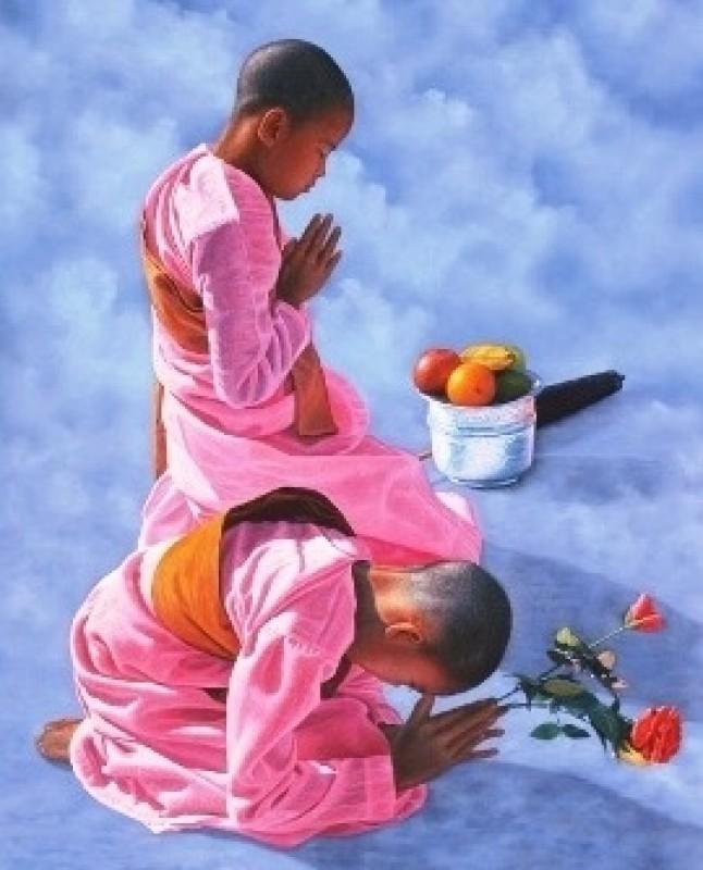 Triển lãm của họa sĩ Myanmar tại Việt Nam