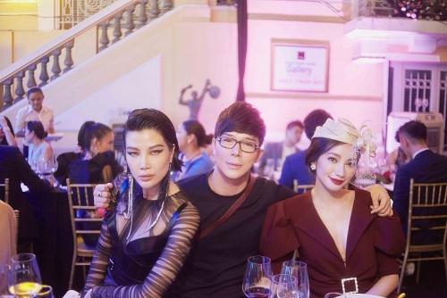 Nathan Lee hội ngộ siêu mẫu Vũ Cẩm Nhung