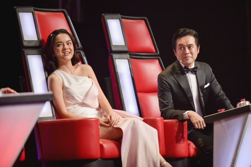 the voice kids 2019 bung no voi cuoc chien day mau sac cua huong giang pham quynh anh