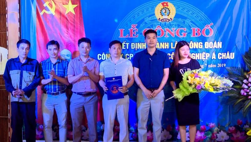 LĐLĐ huyện Thường Tín thành lập Công đoàn doanh nghiệp ngoài nhà nước