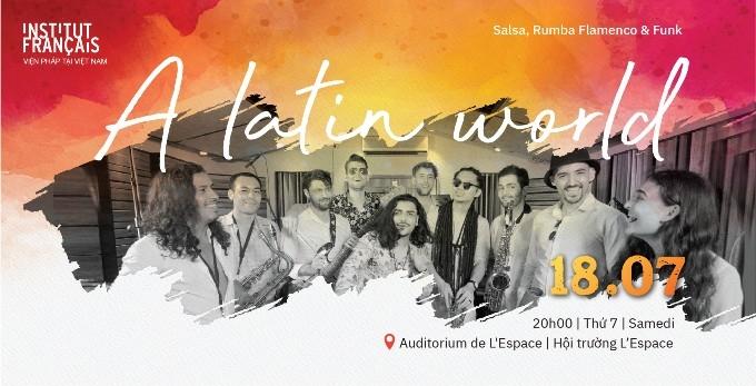 Đêm nhạc Latin tại Hà Nội