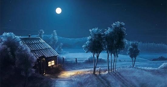 Tình yêu như ánh trăng đêm
