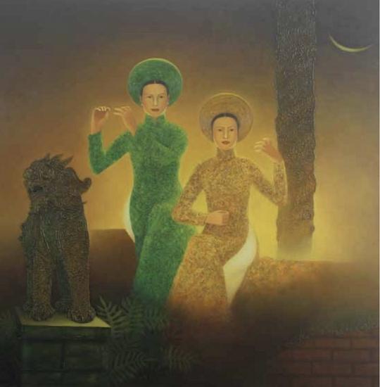 """Tìm tiếng """"Thời gian"""" cùng họa sĩ Lê Văn Nhường"""