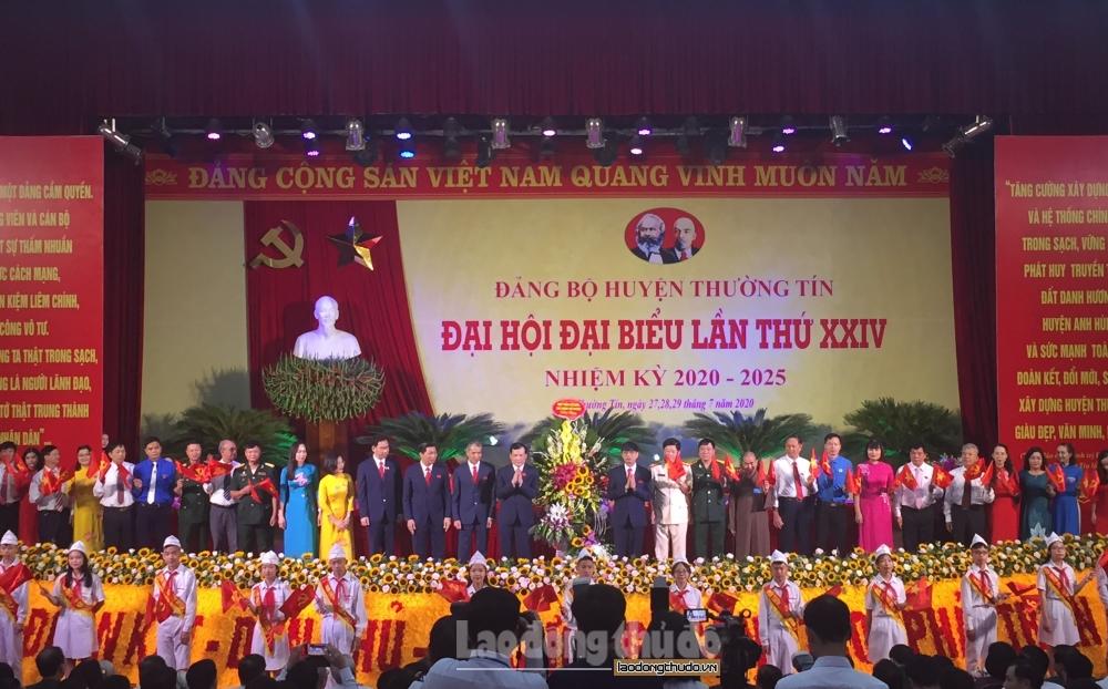 khai mac dai hoi dang bo huyen thuong tin lan thu xxiv nhiem ky 2020 2025