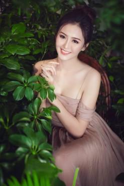 Hoa khôi Hải Yến đẹp không tì vết trong bộ ảnh cổ tích