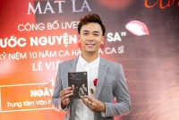 Ca sỹ Lê Việt Anh: Cú đúp 'Nụ cười mắt lá' và 'Ước vọng phù sa'