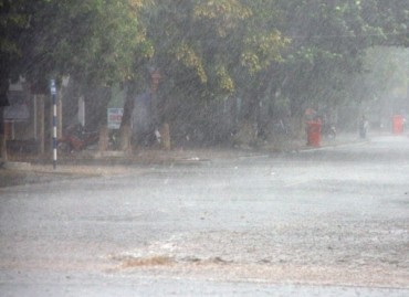 Chiều và tối nay mưa dông trên diện rộng ở Bắc bộ