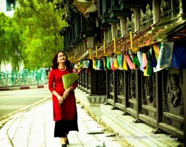 Ngây ngất nét Thu qua các cổng chùa Hà Nội