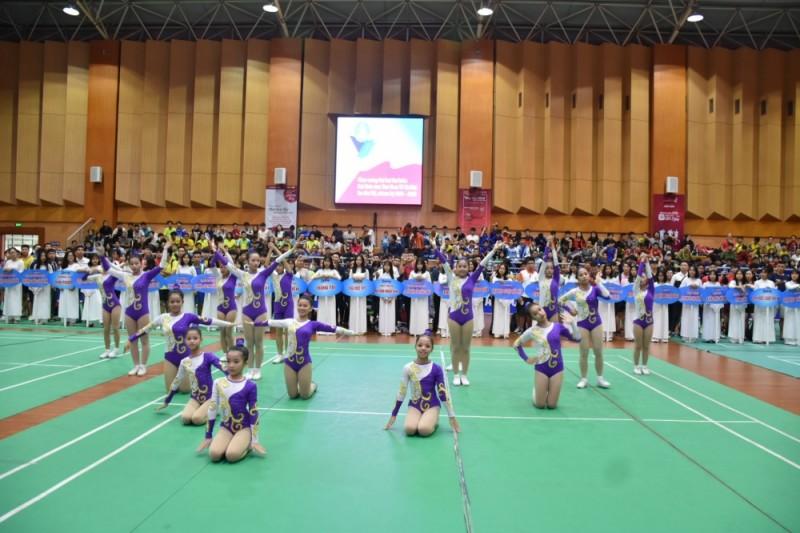 Khai mạc Giải cầu lông học sinh- sinh viên Hà Nội Cúp báo Tuổi trẻ Thủ đô lần thứ V