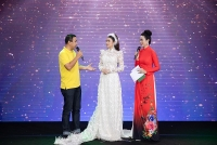 Á hậu Yan My hạnh phúc khi đấu giá thành công áo dài gây quỹ từ thiện